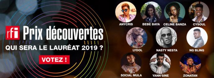 RFI dévoile les finalistes de son Prix Découvertes RFI 2019
