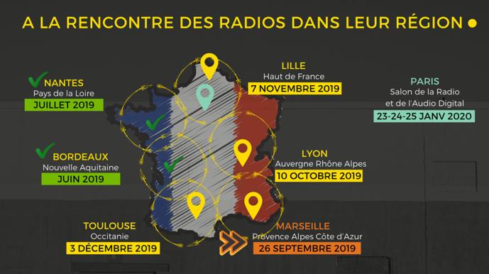 RadioTour : rendez-vous à Marseille ce 26 septembre