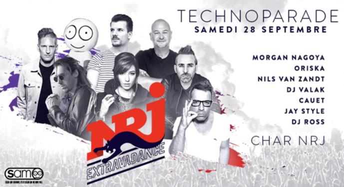 NRJ au coeur de la Techno Parade