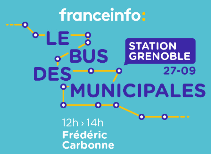 Le bus de franceinfo s'arrête à Grenoble