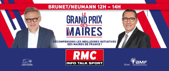 """RMC lance la 2e édition du """"Grand Prix des Maires"""""""