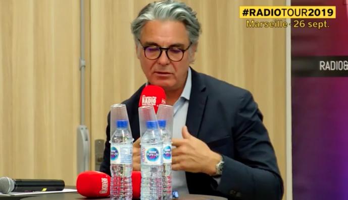 Éric Navarro était l'invité du RadioTour à Marseille le 26 septembre.