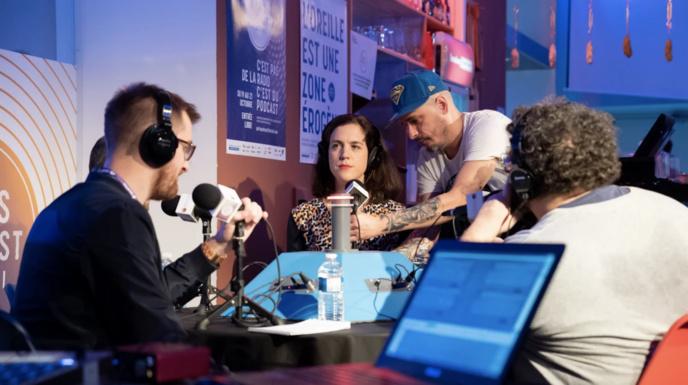 Une nouvelle édition du Paris Podcast Festival aura lieu du 18 au 20 octobre 2019 à La Gaîté Lyrique © Paris Podcast Festival