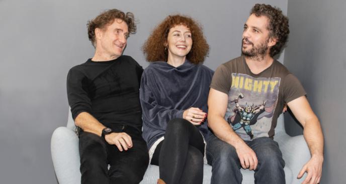 Bruno Sanches, Blandine Bellavoir et Thierry Frémont © Augustin JSM