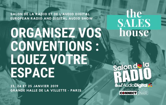 Profitez du Salon de la Radio pour rencontrer vos partenaires