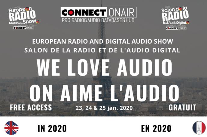 Découvrez tout l'univers du Salon de la Radio 2020