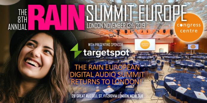 Le site ConnectOnAir partenaire du RAIN Summit Europe