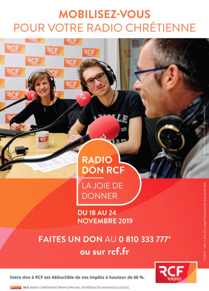Nouvelle édition du Radio Don sur RCF