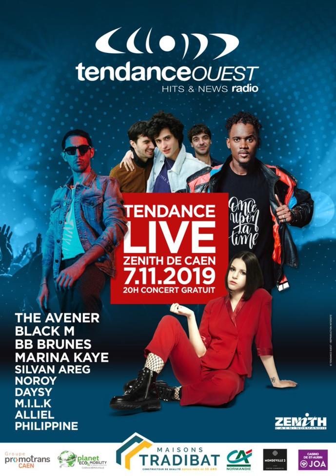 """Tendance Ouest organise un """"Tendance Live"""" à Caen"""