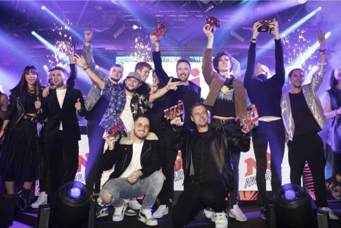 Les gagnants des NRJ DJ Awards © Syspeo / SIPA