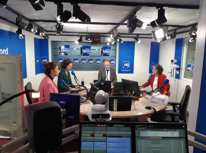 Depuis le 8 octobre, la matinale de France Bleu Nord est diffusée sur France 3. © D.R.