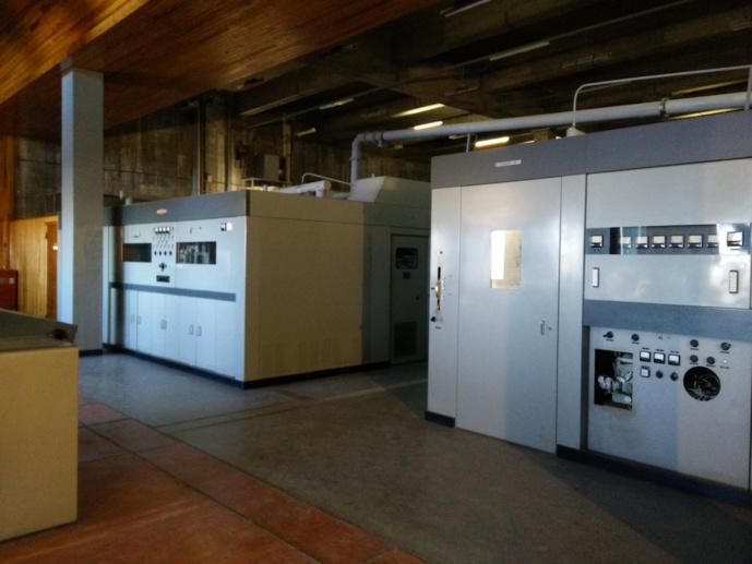 L'émetteur AM de Sud Radio, au Pic Blanc, dans la principauté d'Andorre. Il émettait sur le 819 kHz jusqu'à son arrêt en novembre 1981. © D.R.