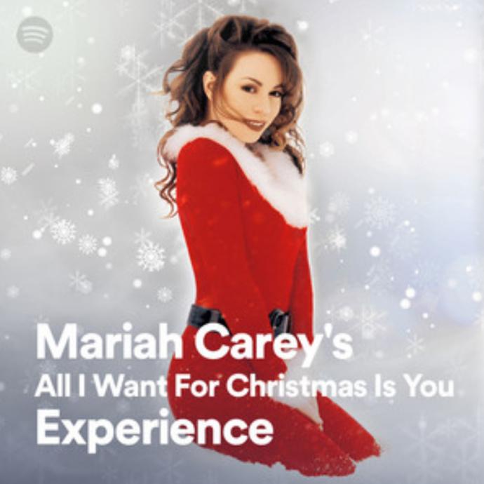 Mariah Carey et Spotify déclarent ouverte la période des chansons de Noël