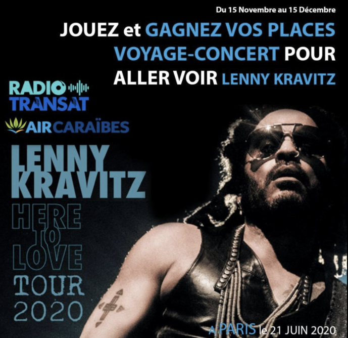 """Radio Transat et Air Caraïbes lancent les """"Voyages-Concerts"""""""