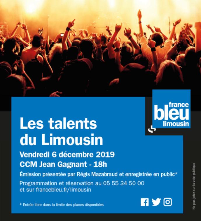 France Bleu Limousin : un concert avec 4 artistes de la région