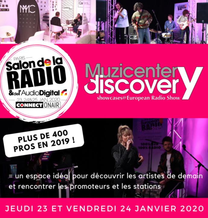 Muzicenter Discovery : la musique s'invite au Salon de la Radio