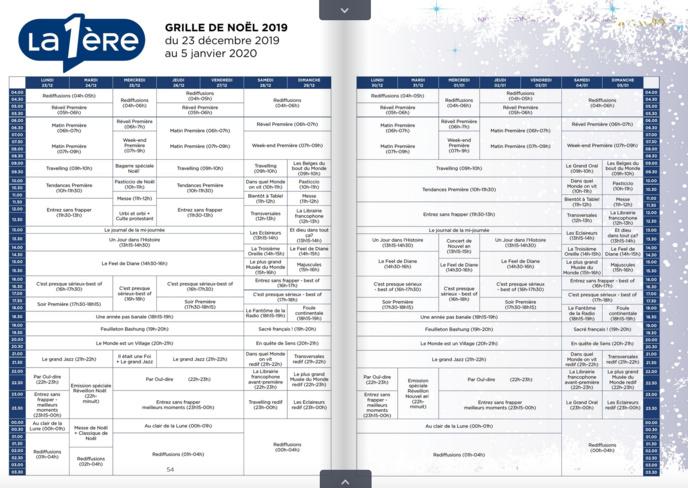 La RTBF prépare les fêtes de fin d'année