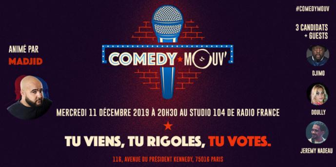 Comedy Mouv' : la soirée des jeunes talents de l'humour