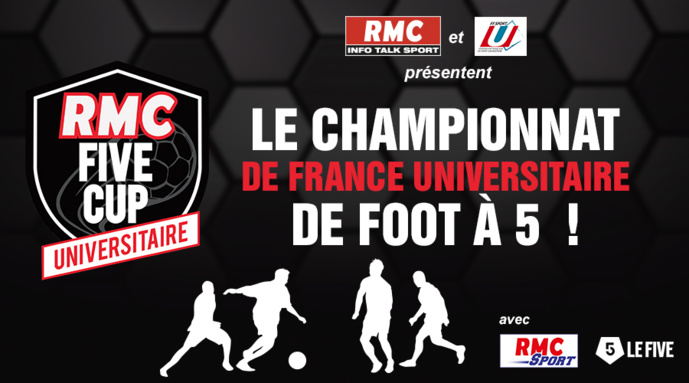"RMC lance la 5e édition de la ""RMC Five Cup Universitaire"""