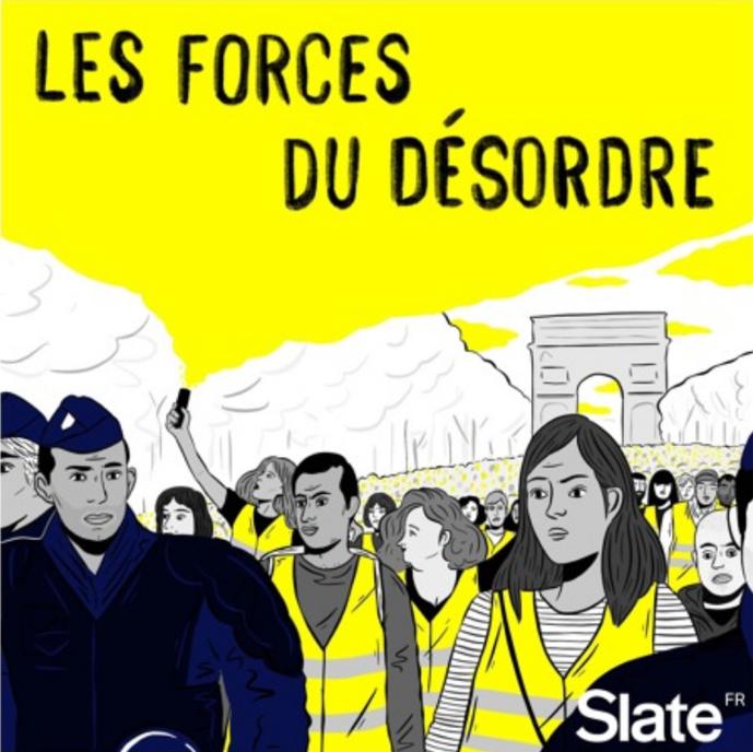 Slate : un podcast au coeur des manifestations