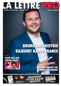 Téléchargez le 118e numéro de La Lettre Pro de la Radio