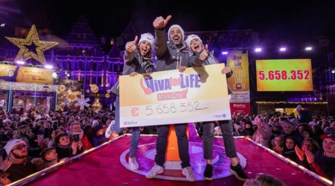 Viva for Life : la magie solidaire a opéré à Tournai