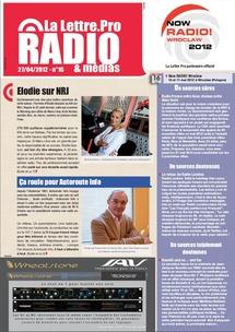 La Lettre Pro de la Radio n°16 : nouveau numéro disponible