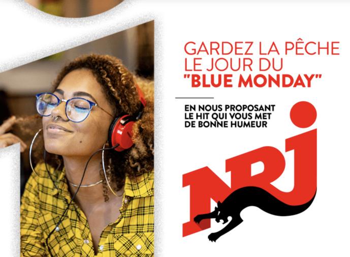 """Gardez la pêche avec NRJ le jour du 'Blue Monday"""""""