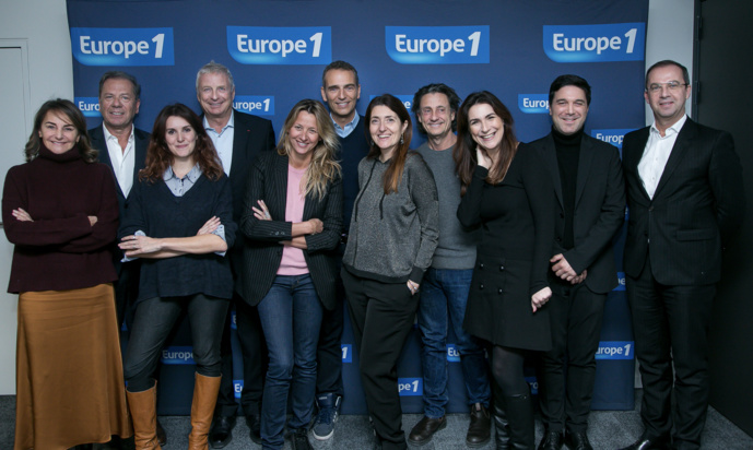 Le jury de la 5e édition des Trophées Europe 1 de l'Avenir © Capa Pictures - Europe 1