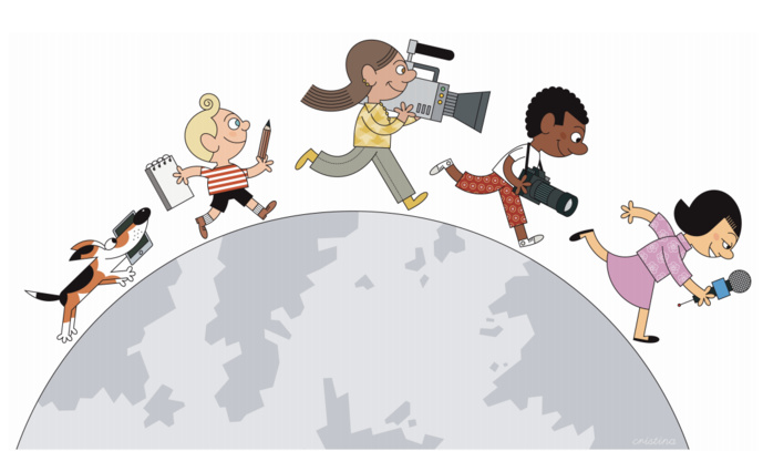"""Nouvelle """"Semaine de presse et des médias dans l'école"""""""