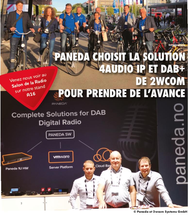 Les équipes de Paneda et 2wcom coopèrent sur plusieurs projets DAB+ dans le monde. © Paneda et 2wcom Systems GmbH