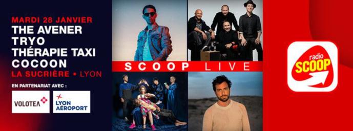 """Premier """"Scoop live"""" de l'année pour Radio Scoop"""