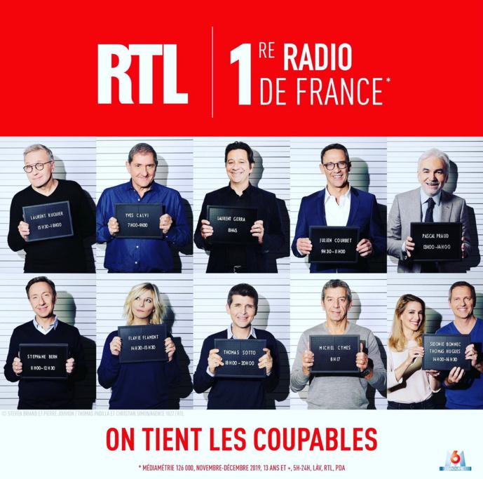 """RTL est, aussi, """"première radio de France"""""""