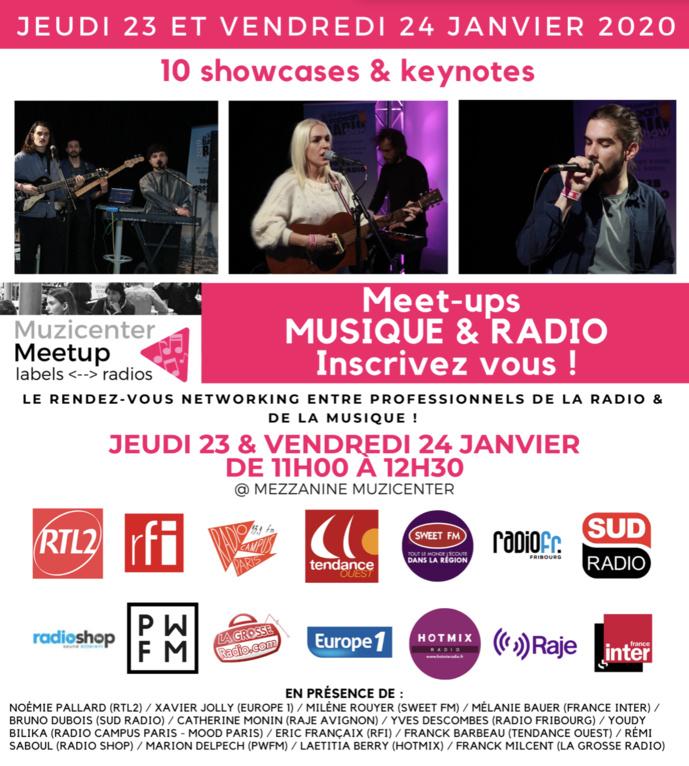 Inscrivez-vous aux Meet-ups Muzicenter Discovery