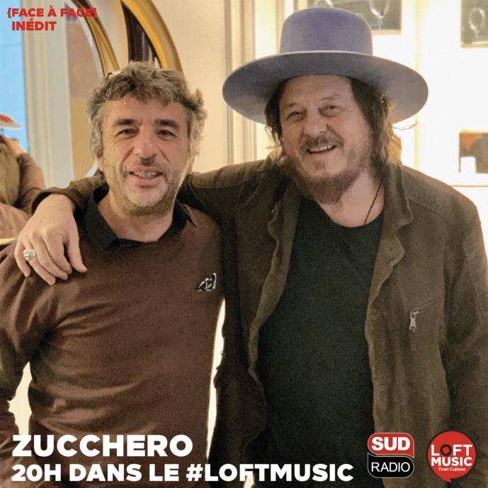 Zucchero dans le Loft Music sur Sud Radio