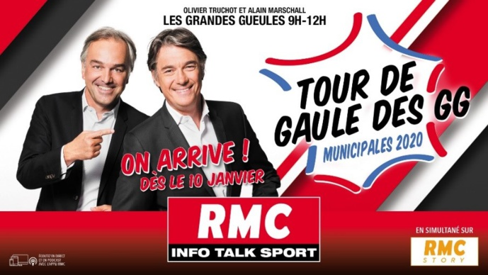 """RMC reporte sa tournée """"Le Tour de Gaule des GG"""""""