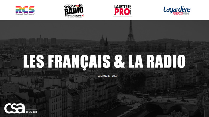 Etude exclusive : les Français fortement attachés à la radio