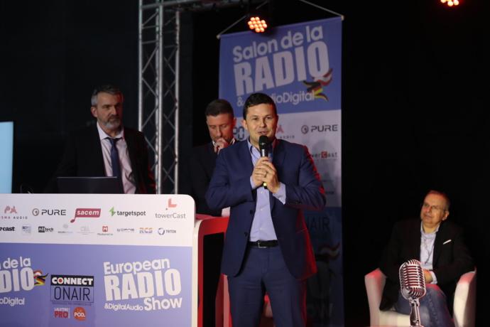 Bruno Laforestrie, directeur de Mouv', a lui aussi été récompensé