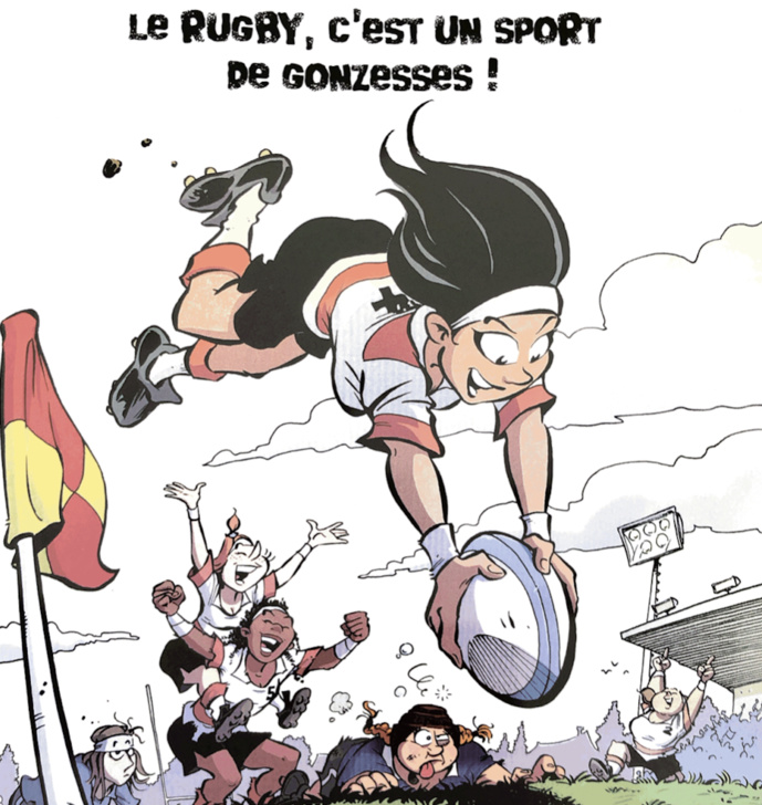 """A2PRL : """"le rugby, c'est un sport de gonzesses !"""""""