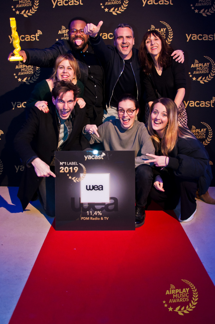 "Yacast a remis ses ""Airplay Music Awards 2020"""