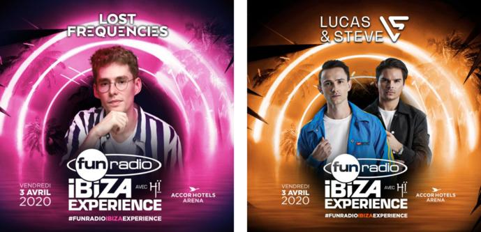 De nouveaux artistes à la Fun Radio Ibiza Experience