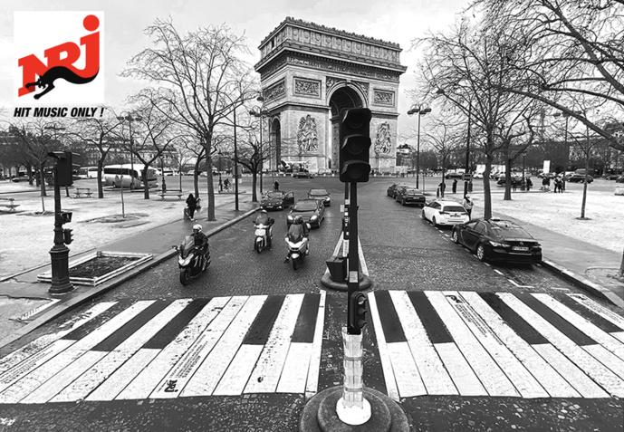 Le piano d'Alicia Keys s'est affiché sur les passages piétons et dans les rues de Paris