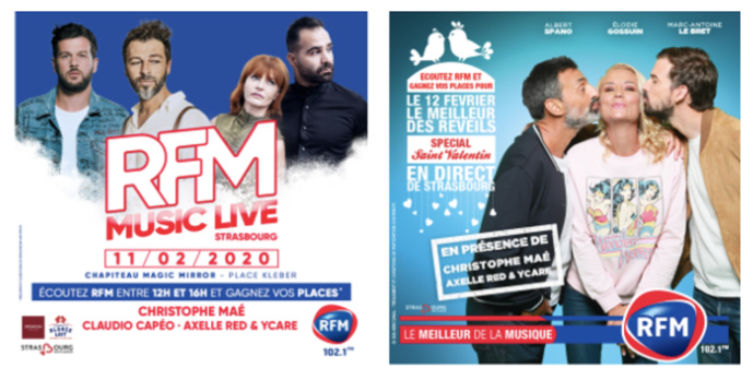 RFM à Strasbourg organise deux événements