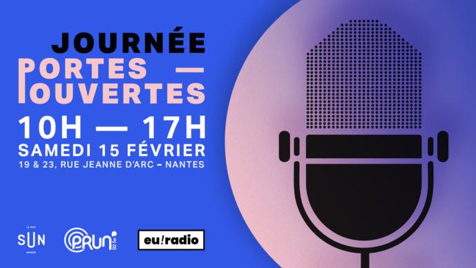 Euradio, Prun' et Sun ouvrent leurs portes le 15 février