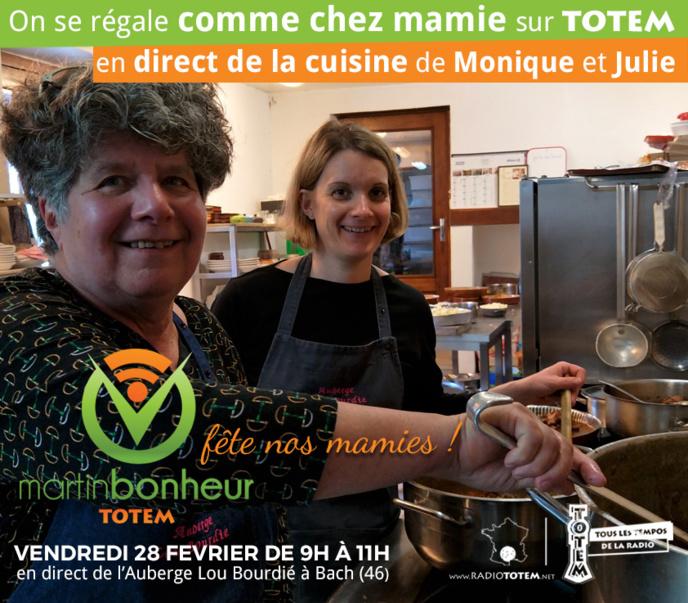 """Totem en cuisine """"comme chez mamie"""""""