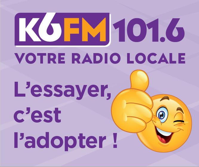 K6FM en campagne dans les rues de Dijon