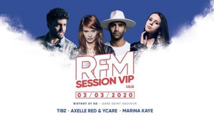 """RFM organise une """"RFM Session Vip"""" à Lille"""