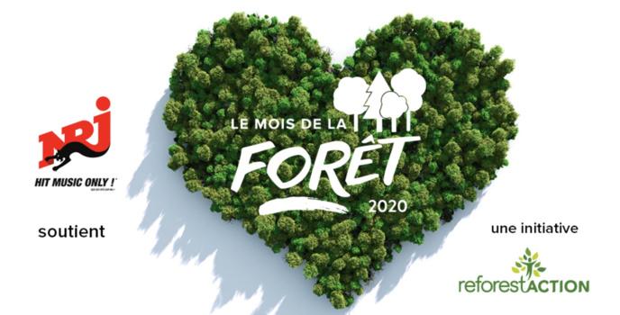 NRJ : l'équipe de la matinale s'engage à planter des arbres