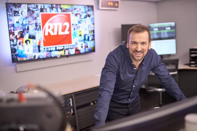 """Guillaume Piau est directeur des programmes de RTL2. C'est un des piliers de la réussite de la station du """"Son Pop Rock"""" © Nicolas Gouhier / RTL2"""
