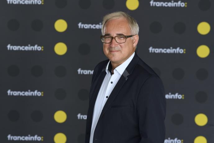Vincent Giret, directeur de franceinfo radio